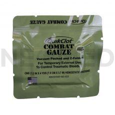 Αιμοστατικό Επίθεμα QuikClot Combat Gauze του οίκου ZMedica Αμερικής