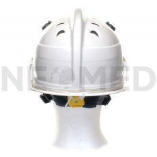 Κράνος Διασωστικό HPS 3500 Basic σε λευκό χρώμα με γυαλιά ασφαλείας της Γερμανικής Dräger