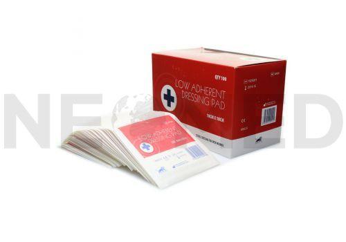 Αποστειρωμένο Επίθεμα Γάζας 10 x 10 cm Σε Συσκευασία 100 Τεμαχίων του Αγγλικού Οίκου Blue Lion Medical