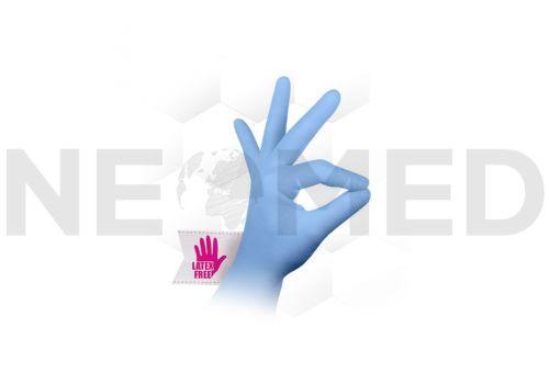 Γάντια Νιτριλίου Μπλέ Εξεταστικά Robust™ του οίκου Aurelia Αμερικής