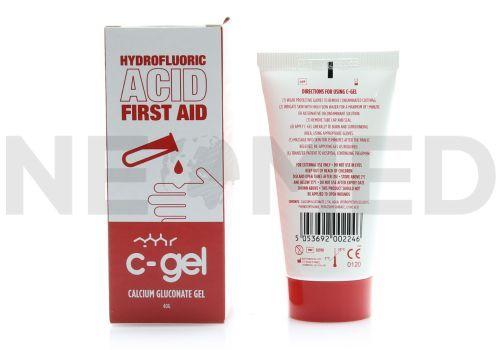Gel Γλυκονικού Ασβεστίου C-Gel για Εγκαύματα Υδροφθορικού Οξέος από τον Αγγλικό οίκο Kays Medical