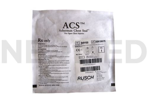 Θωρακικό Επίθεμα Τραύματος Asherman (ACS™) του οίκου Rusch Γερμανίας