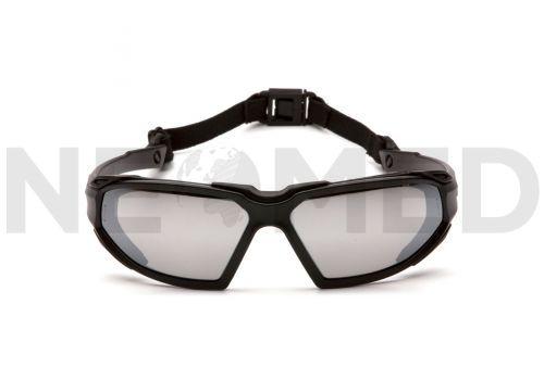 Γυαλιά Ασφαλείας HIGHLANDER Silver Mirror Anti Fog του οίκου Pyramex Αμερικής