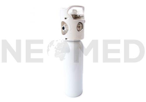 Ιατρικό Οξυγόνο Φιάλη 3 Lt COMBI με Βηματικό Ροόμετρο Ακριβείας