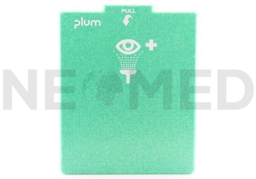 Σταθμός Πλύσης Οφθαλμών PLUM Dustproof με pH Neutral 200ml και 0.9% NaCl 500ml