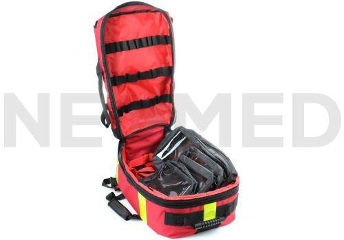 Διασωστικό Σακίδιο Αυτόματου Απινιδωτή και Πρώτων Βοηθειών με Εσωτερικές Θήκες Arky AED Large