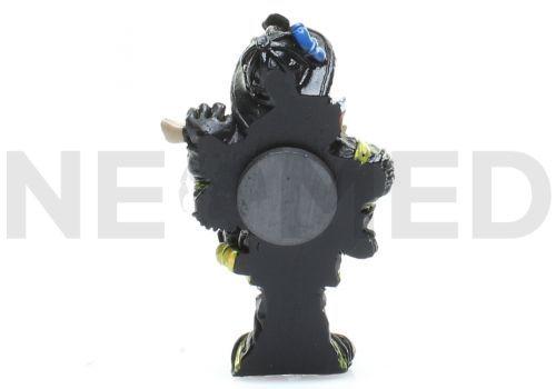 Διακοσμητικό Μαγνητάκι Πυροσβέστης 6.8 cm από τη NEOMED