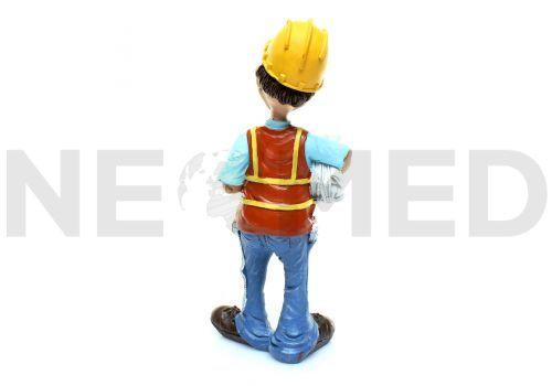 Μινιατούρα Αγαλματάκι Μηχανικός 15.5 cm από τη NEOMED