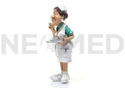Νοσηλεύτρια Μινιατούρα Αγαλματάκι 16.5 cm από τη NEOMED