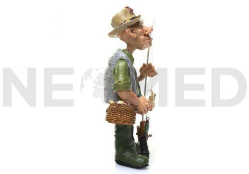 Αγαλματάκι Μινιατούρα Ψαράς 17.5 cm από τη NEOMED