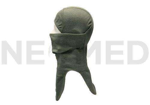 Πλαϊνή εμφάνιση μπαλακλαβας λαιμού και αυχένα